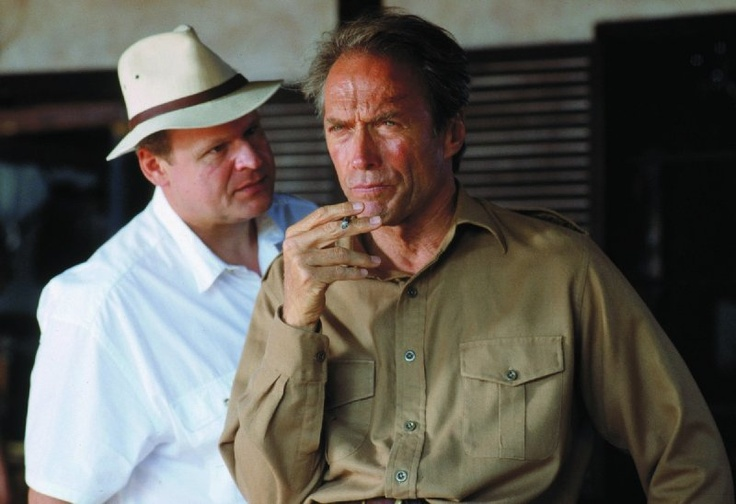 Still of Clint Eastwood and George Dzundza in White Hunter Black Heart