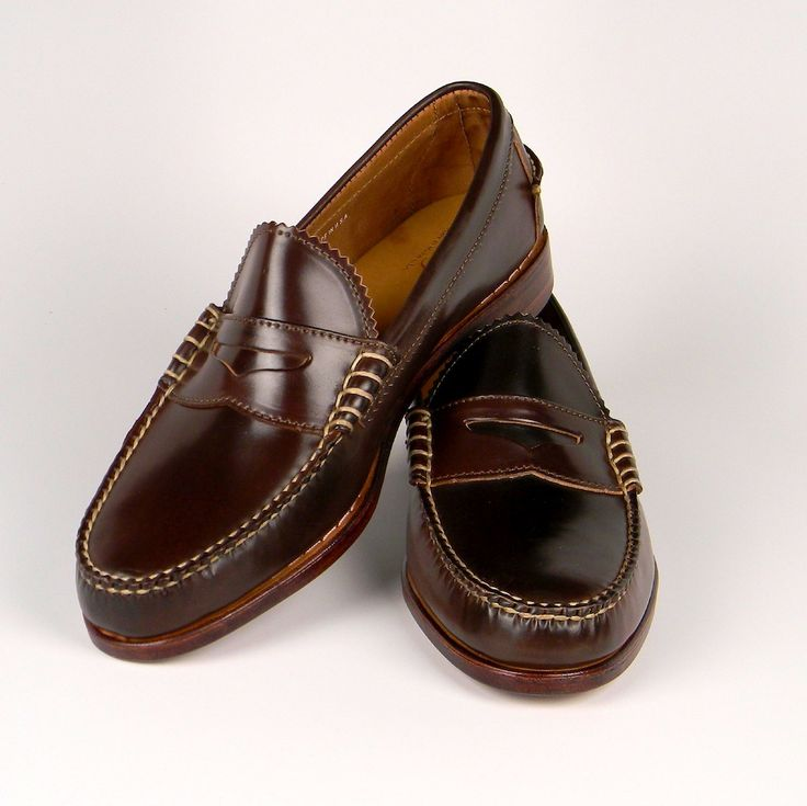 Leather Casual Shoes Loafer Eagle