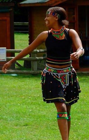 Zulu attire!  love the beading