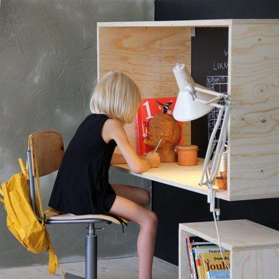 You don't need the most expensive cut of wood to create beautiful furniture. (via by architect Takkunen, via Scandinavian Deko)