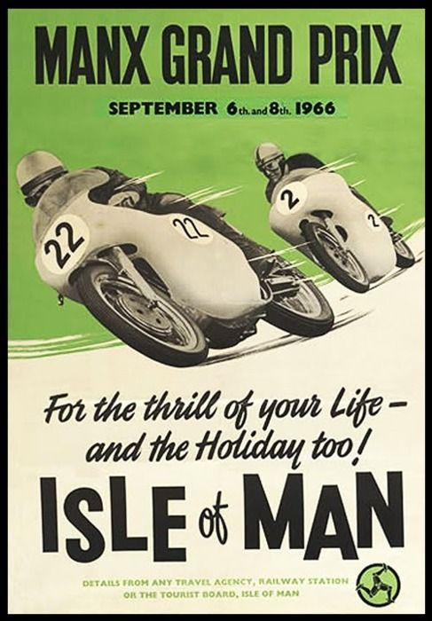 For the thrill of your life - since 1907 via Habermann & Sons Classic Motorcycle Clothiers.