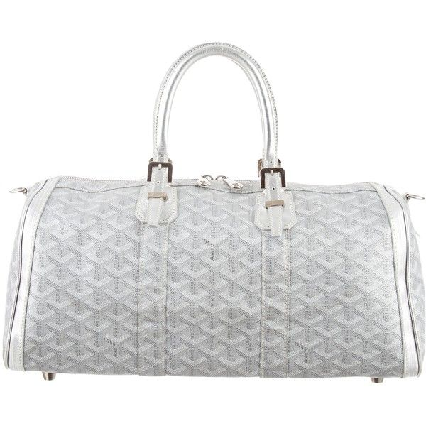 Pre-owned Goyard Croisi?re 40 (345 KWD) ❤ liked on Polyvore featuring bags, handbags, metallic, colorful purses, goyard purse, multicolor handbags, preowned handbags and multi color handbag