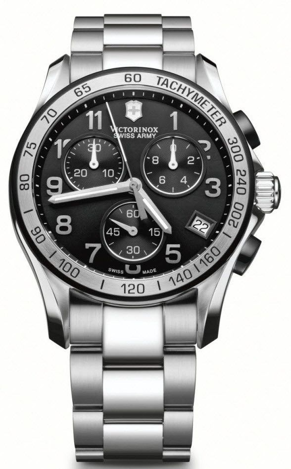 Victorinox Swiss Army Watch Chrono Classic #bezel-fixed #bracelet-strap-steel #brand-victorinox-swiss-army #case-material-steel #case-width-41mm #chronograph-yes #classic #date-yes #delivery-timescale-call-us #dial-colour-black #gender-mens #movement-quartz-battery #official-stockist-for-victorinox-swiss-army-watches #packaging-victorinox-swiss-army-watch-packaging #style-sports #subcat-chrono-classic #supplier-model-no-241403 #warranty-victorinox-swiss-army-official-3-year-guarantee…