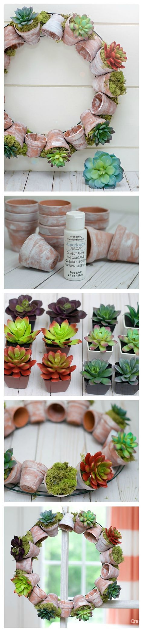 Create a long lasting DIY Succulent Wreath for Spring or Summer! This Wreath is so simple to make and the faux succulents are perfect!