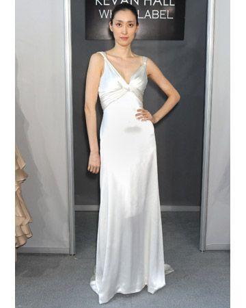Kevan Hall Spring 2012 Wedding Dress