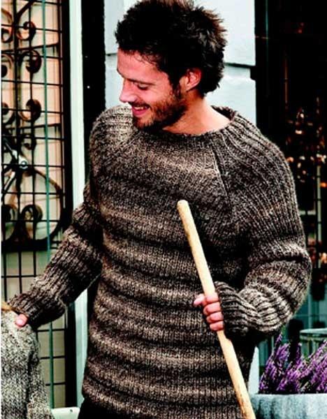 Patentstrikket sweater http://www.hendesverden.dk/handarbejde/strik/Strik-til-drengene-i-familien3/