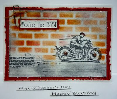 BaRb'n'ShEll Creations-Kaszazz Vintage motorbike - BaRb