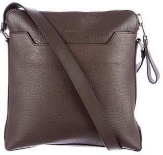 Tom Ford Leather Messenger Bag