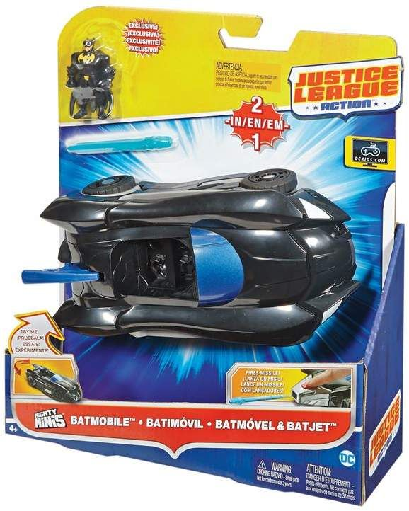 Dc Comics Batmobile and Batjet Vehicle