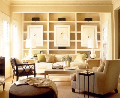 Barbara Barry ,Forbes.com Like the big art hanging on the shelves
