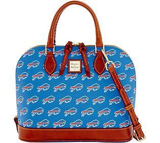 Dooney & Bourke NFL Bills Zip Zip Satchel