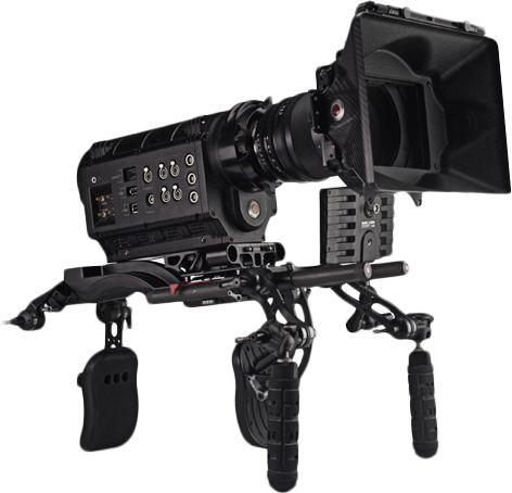 RED ONE Digital Cinema Camera on The Clutch Shoulder Rig #digitalcameratips