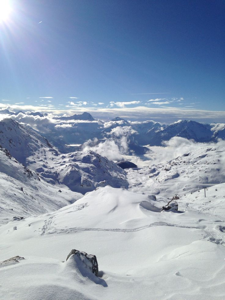 Alpe D'huez 2014 Skiing