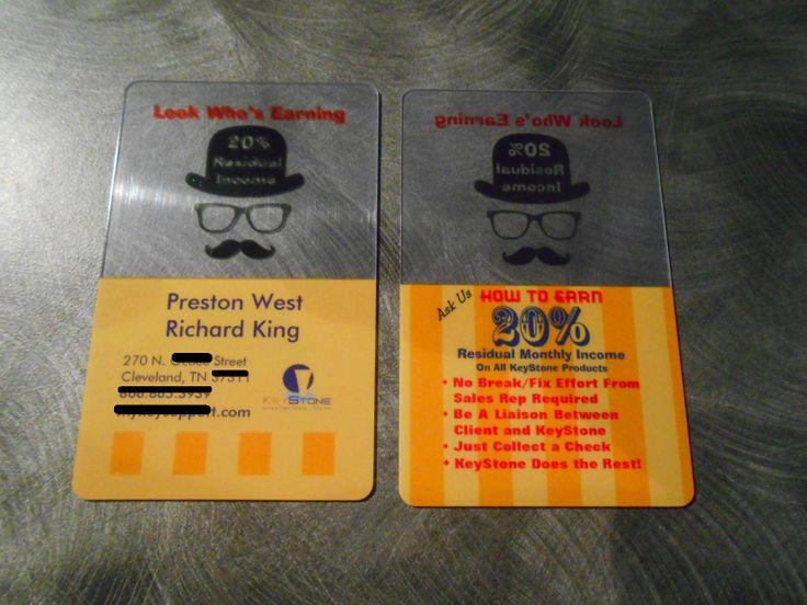 Transparent Business Cards - Canada, USA, UK, Australia