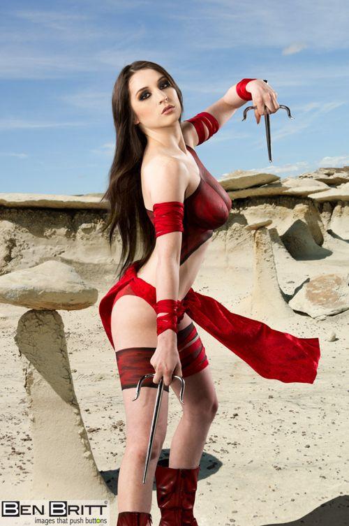 Cosplay beautiful nude girl #11
