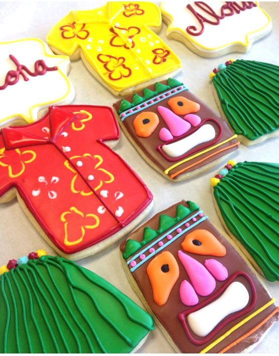 I'm the first to admit that I struggle with cake and cookie decorating. There's not a lot of artistic skills in this gal. But, I can sure fake it thanks to outsourcing my baking to the experts. These luau cookies are perfect for special events such as birthday parties, wedding favors or more. I've rounded …