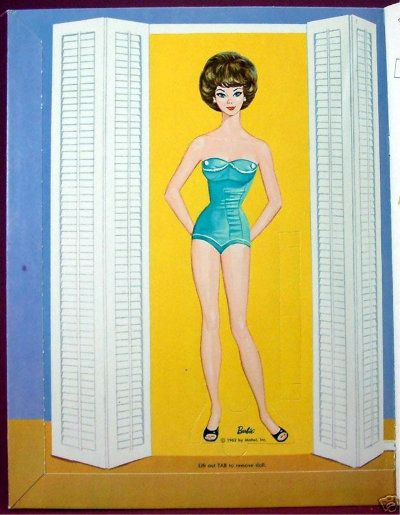 Barbie Paper Doll - 1963 | Free PDF with printables!