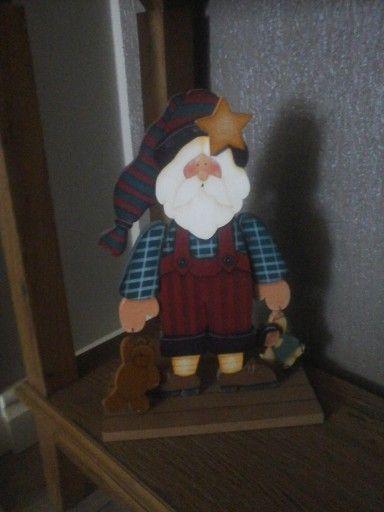 Noel , urso e a boneca.