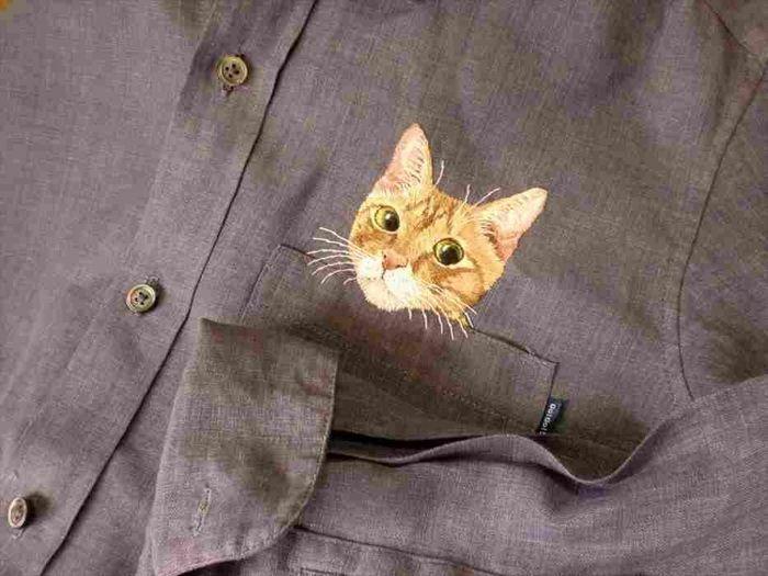 Карманные кошки от Хироко Кубота :: Картинки из Интернета