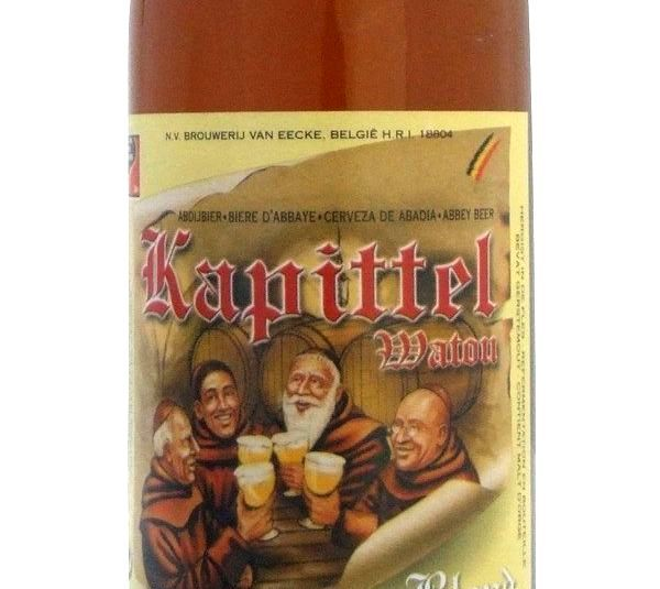 Het Kapittel Watou Blond 330ml Beer in New Zealand - http://www.frenchbeer.co.nz/beer-from-france-in-nz/het-kapittel-watou-blond-330ml-beer-in-new-zealand/ #French #Beer #nzbeer