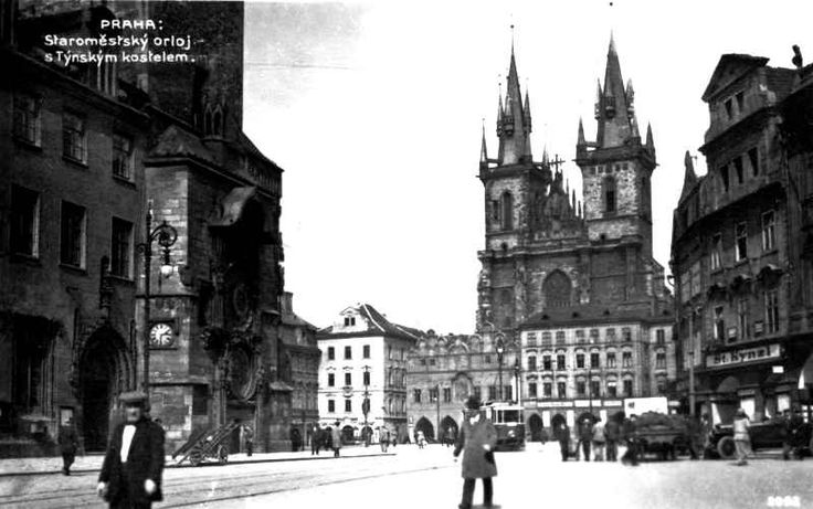 Prague Lens: Vintage Postcard Photo Images of Prague | Tres Bohemes