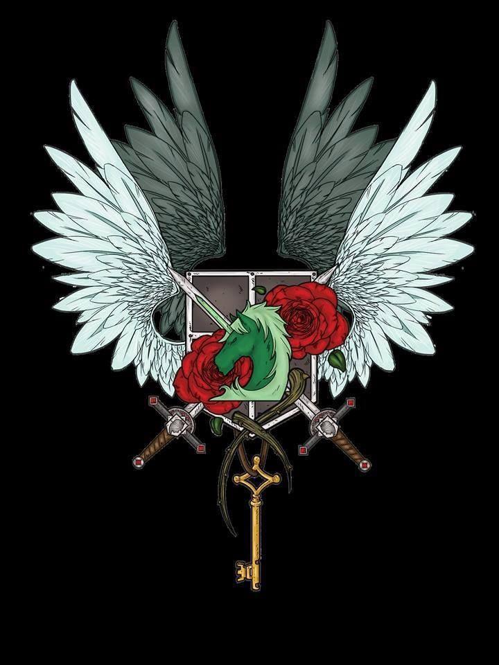 Shingeki no Kyojin » Fanart | United Military Divisions, Colored and Black…