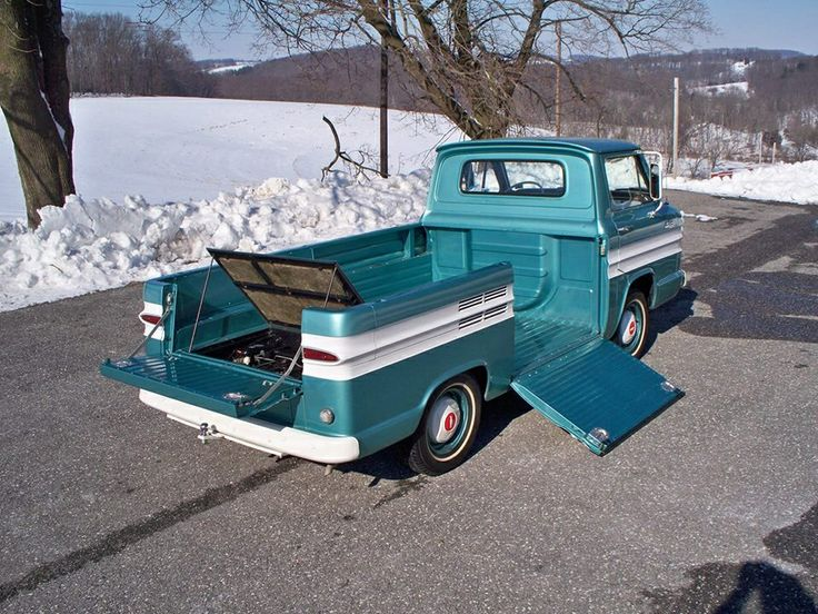 118 best chevy gmc trucks images on pinterest chevrolet trucks car of the week 1964 chevrolet rampside pickup old cars weekly publicscrutiny Gallery