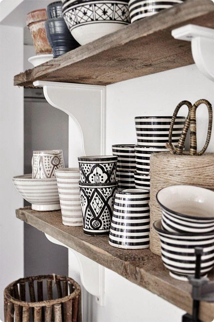 Deliciously at Home - Decor - Organization - Wellness: 40 Ideias para uma decoração Black & White
