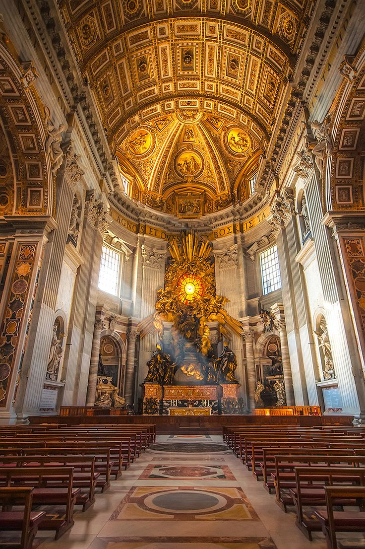 St Peters Basilica, Rome, Italy Travel Around Europe