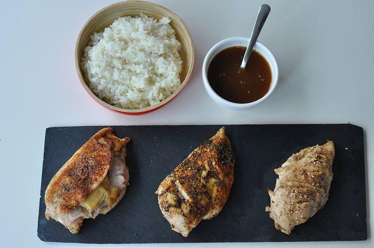 Tres maneras de cocinar pollo. Comida sana