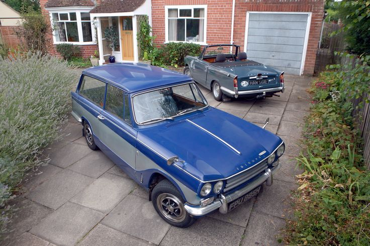 Triumph Vitesse - Estate & Mk1 2litre Convertible                                                        www.tssc.org.uk