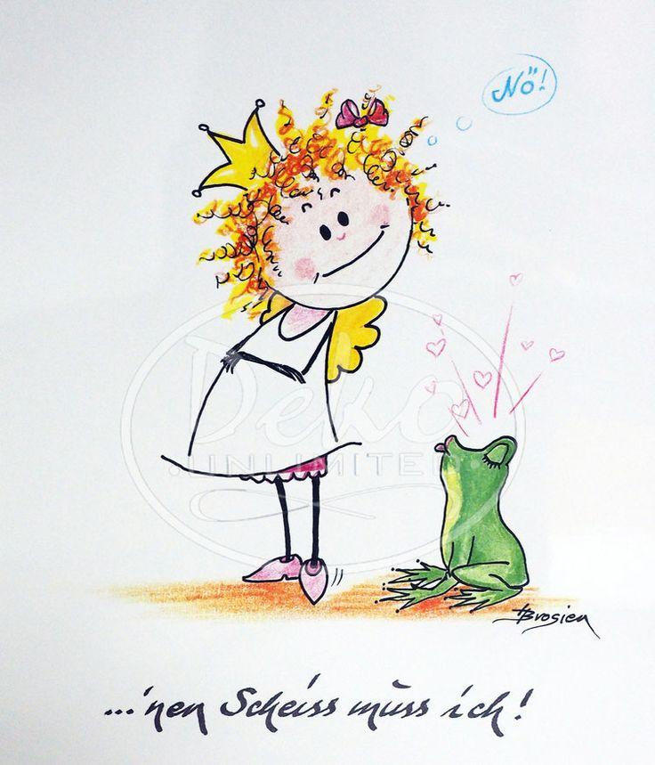 Heidemarie Brosien - NEN SCHEISS MUSS ICH - Passe-Partout-Bild