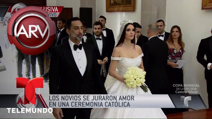 Marlene Favela y George Seely se juran amor eterno   Al Rojo Vivo   Tele...