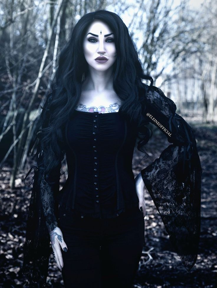 Black Gothic Band Lace T-shirt for Women - Devilnight.co.uk