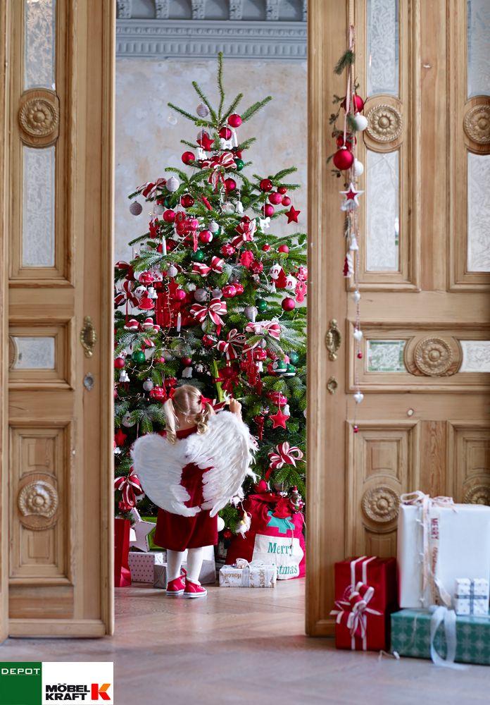 Spectacular o Tannenbaum o Die traditionelle ROT kommt nie aus der Mode moebel kraft de
