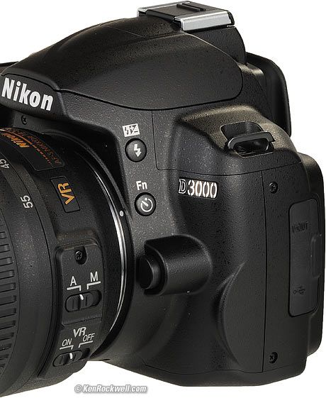 Nikon D3000 Lens Controls (awesome information and opinions from another D3000 user)