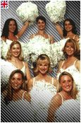 The G - Force - 1992 - 1999 the famous cheerleaders led by Donna Darby in the famous dance routines and they cheered on for the contenders and they managed to drive Wolf off.