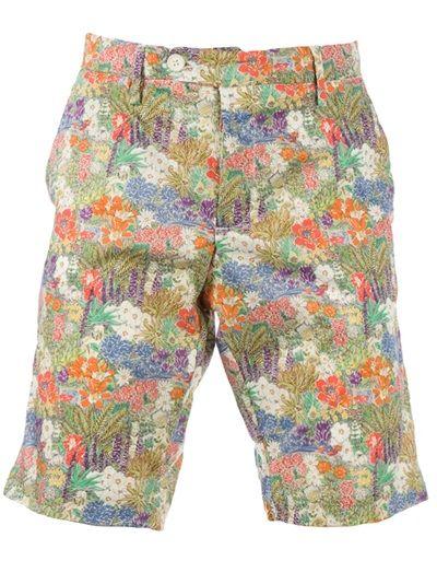 MYTHS Floral Deck Shorts