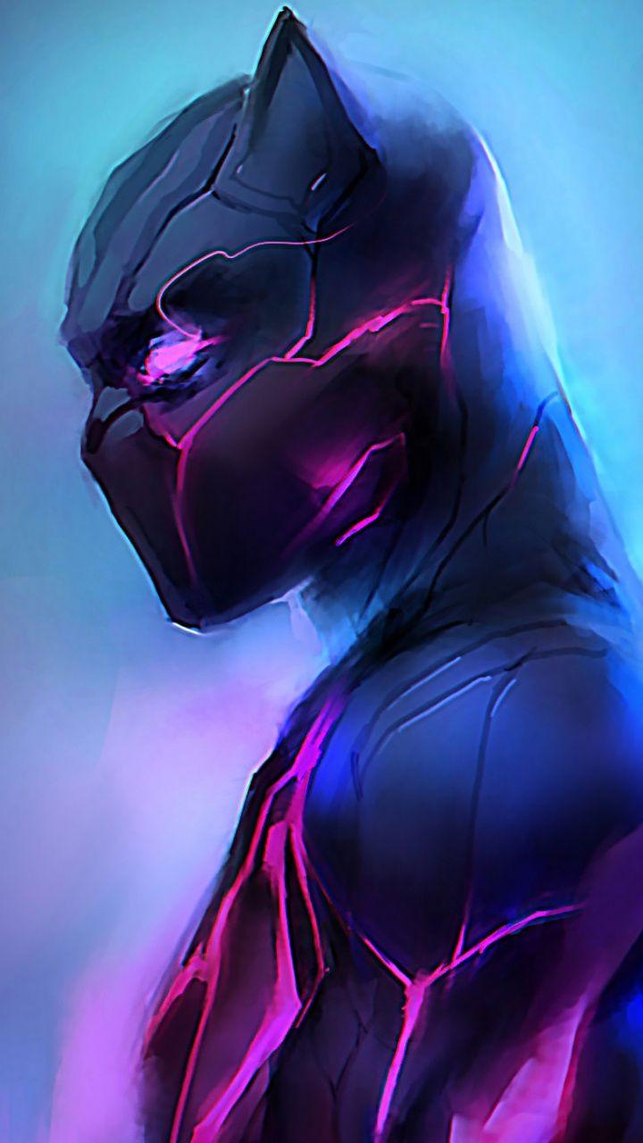Artwork Black Panther Glowing Suit Wallpaper Black Panther Drawing Black Panther Black Panther Art