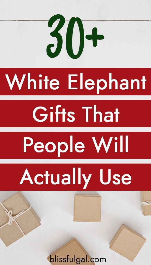 Creative White Elephant Gifts Everyone Will Fight For Blissful Gal White Elephant Gifts Funny White Elephant Gifts Best White Elephant Gifts