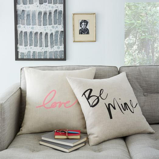 Love and Be Mine Pillow Covers