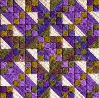 Two-Handed Stitcher: March Colors-Laura J. Perin Designs