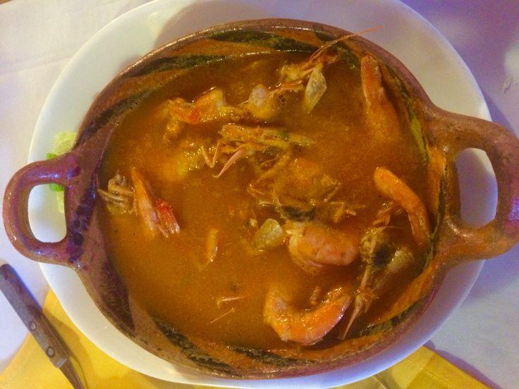 Chilpachole de camarón con cascara - Veracruz