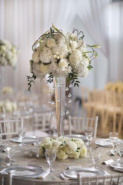 17 Best Ideas About Crystal Wedding Centerpieces On Pinterest