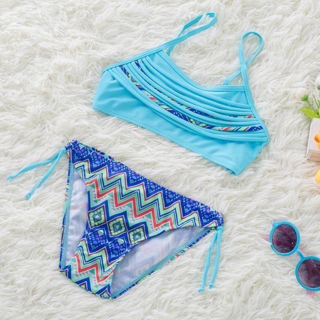 Mädchen Bikini 2019 zwei Stücke Baby Mädchen Badeanzüge Mädchen Badeanzug Kinder B …   – Bikini Rezept