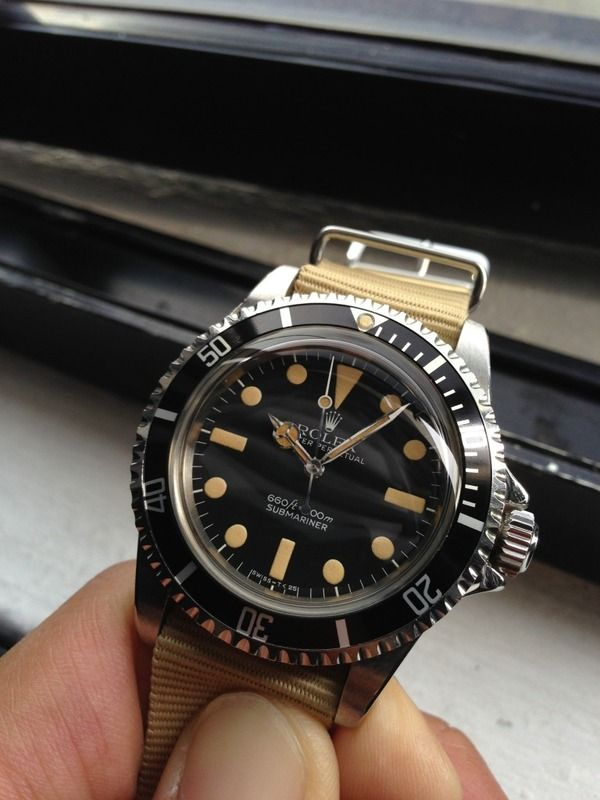 Radioactive Submariner.  To die for.