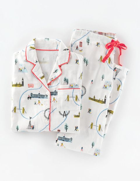 Gemütlicher Pyjama WP035 Geschenke für Sie bei Boden