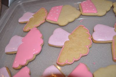 Princess Ballerina Cookies – Making a cookie template | Suz Daily