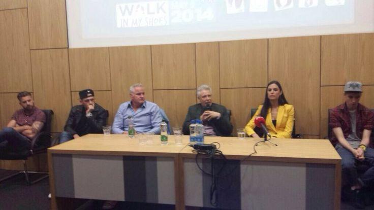 Adam Clayton (U2), Walk In My Shoes press conference, April 30th, 2014 #u2NewsActualite #u2NewsActualitePinterest #AdamClayton #u2 #music #rock #picture #new #news #actualité  www.walkinmyshoes.ie/get-involved/