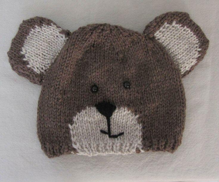 Bonnet ours pour bébé